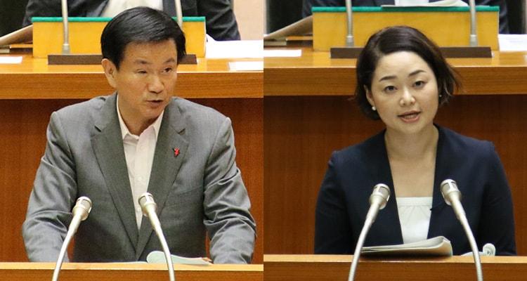 安藤じゅん子千葉県議会議員VS森田健作千葉県知事