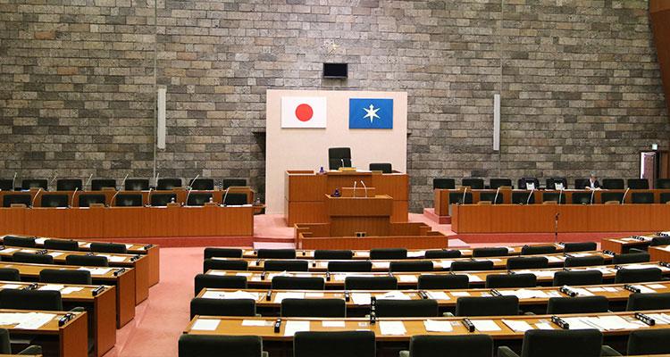千葉県議会議場