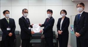 立憲民主党千葉県議団が森田知事に新型コロナ対策に関する緊急要望書を提出