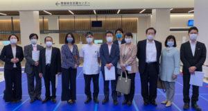 安藤じゅん子と立憲会派は県がんセンターを視察しました