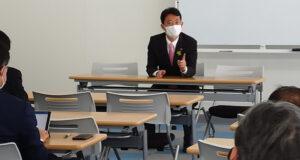 熊谷俊人新千葉県知事と立憲会派で意見交換会を実施